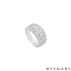 Bvlgari Platinum Diamond Eternity Ring